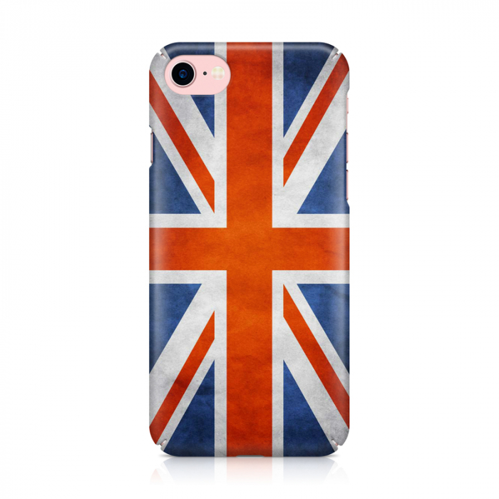 Husa iPhone 7 Custom Hard Case Flag UK 1