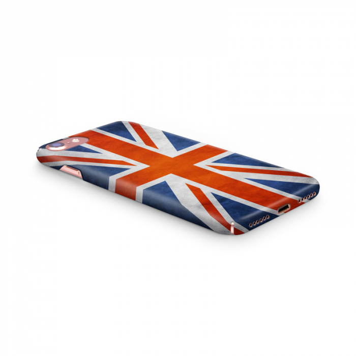 Husa iPhone 7 Custom Hard Case Flag UK 2