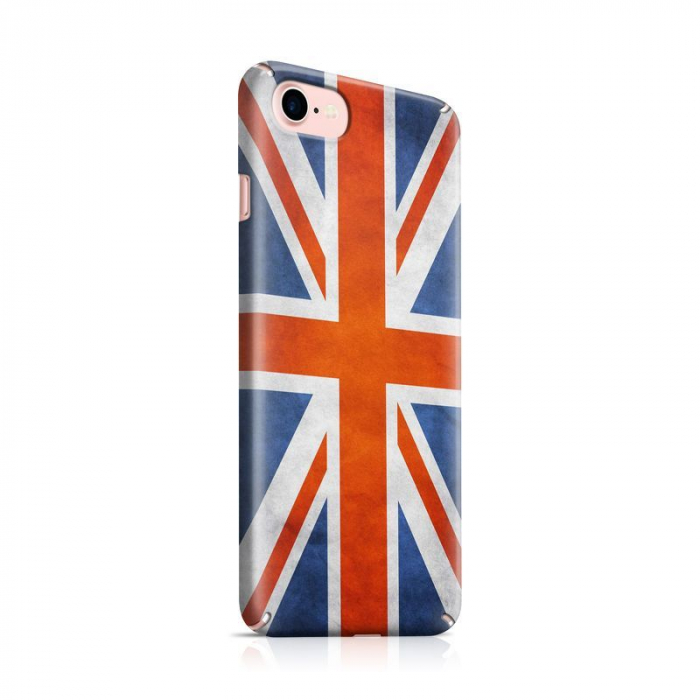Husa iPhone 7 Custom Hard Case Flag UK 0