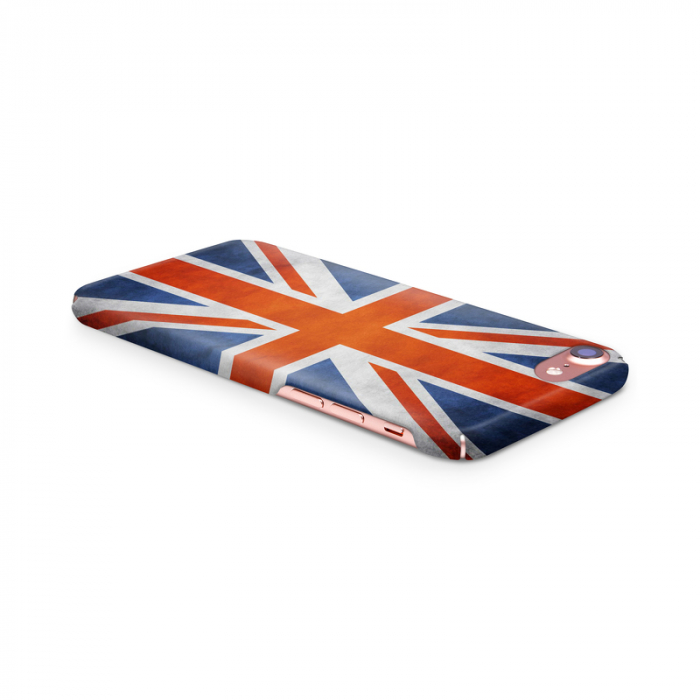 Husa iPhone 7 Custom Hard Case Flag UK 3