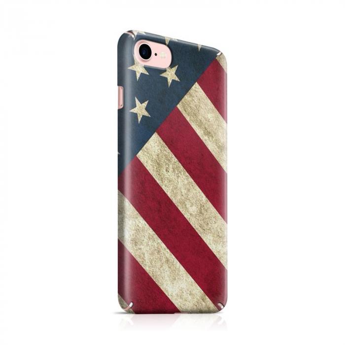 Husa iPhone 7 Custom Hard Case Flag US 0