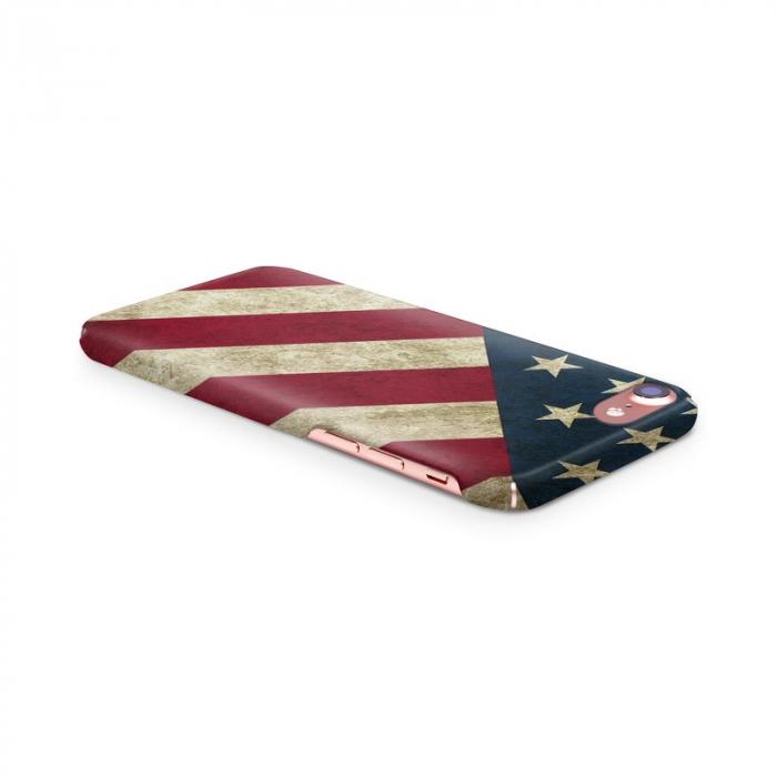 Husa iPhone 7 Custom Hard Case Flag US 2