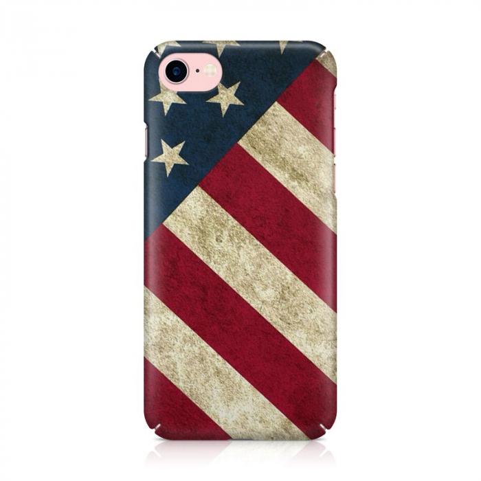 Husa iPhone 7 Custom Hard Case Flag US 3
