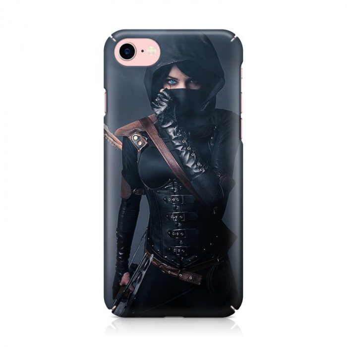 Husa iPhone 7 Custom Hard Case Girl Fighter 1