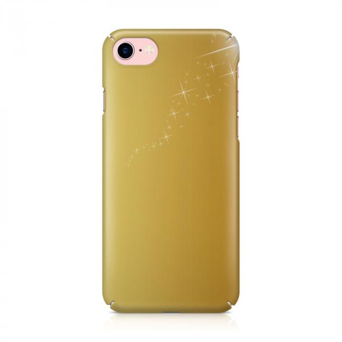 Husa iPhone 7 Custom Hard Case Golden Stars 1