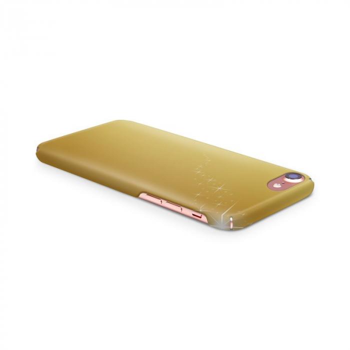 Husa iPhone 7 Custom Hard Case Golden Stars 2