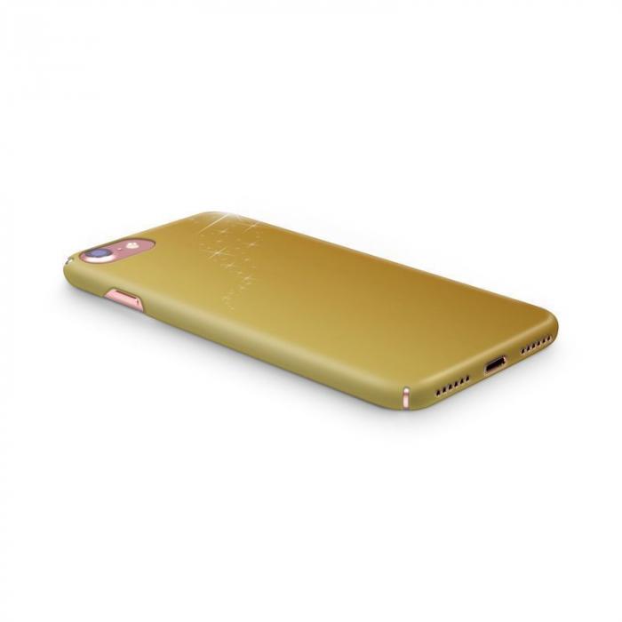 Husa iPhone 7 Custom Hard Case Golden Stars 3