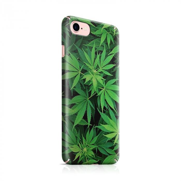 Husa iPhone 7 Custom Hard Case Green Leaf 0