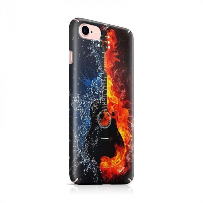 Husa iPhone 7 Custom Hard Case Guitar 0