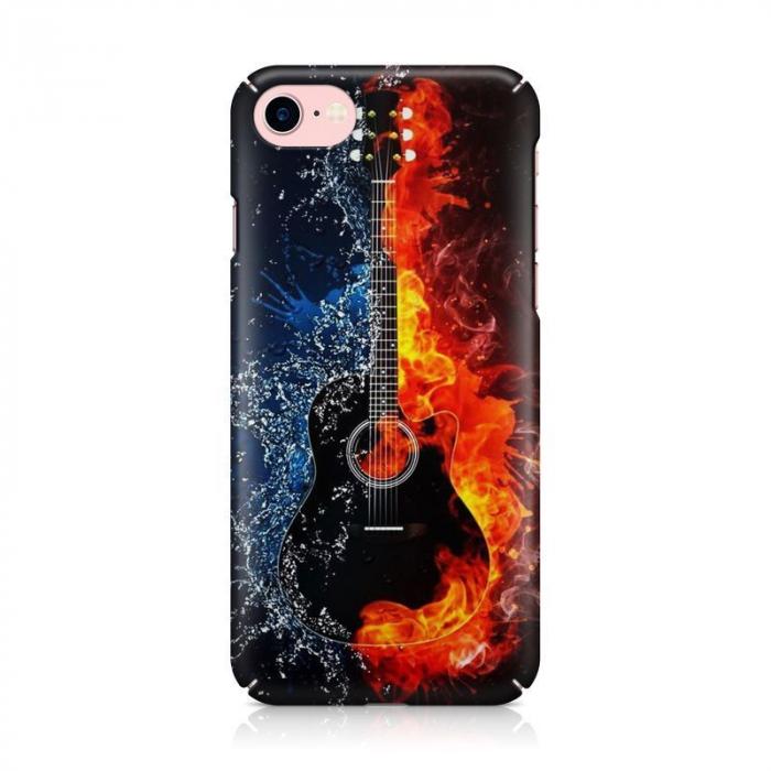 Husa iPhone 7 Custom Hard Case Guitar 2