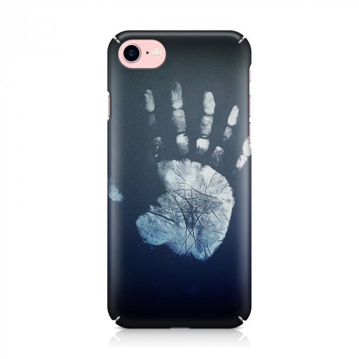 Husa iPhone 7 Custom Hard Case Hand Print 1