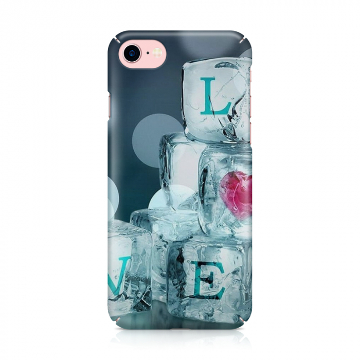 Husa iPhone 7 Custom Hard Case Ice Love 1