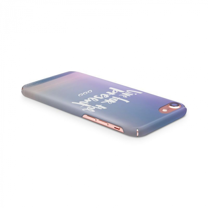Husa iPhone 7 Custom Hard Case Live For The Present 3