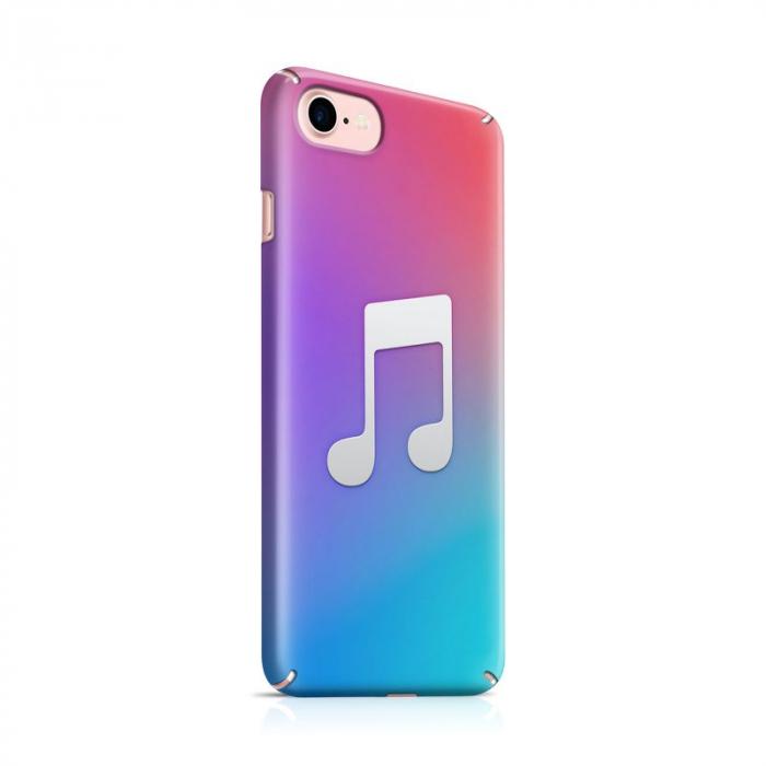 Husa iPhone 7 Custom Hard Case Music 0