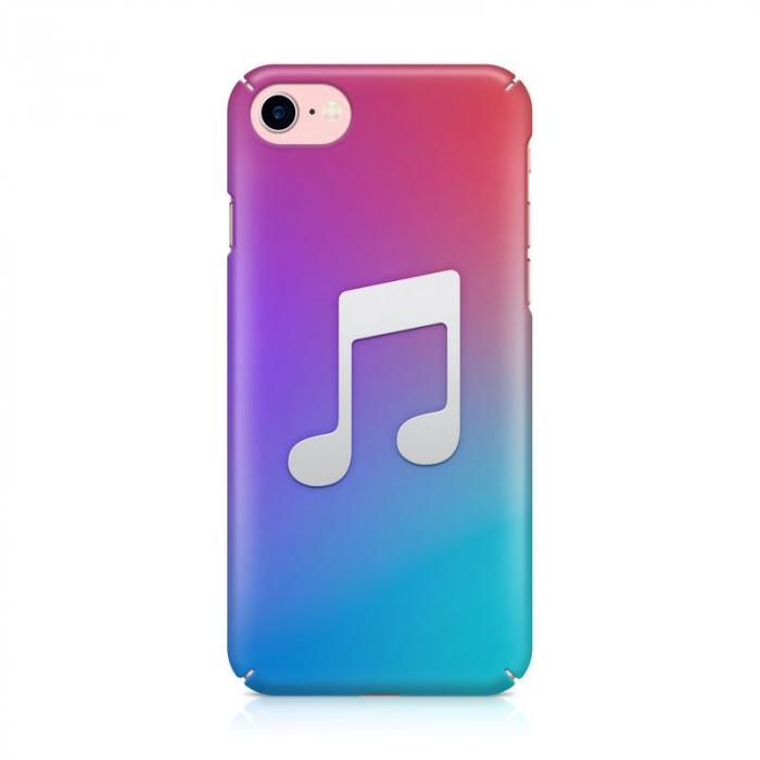 Husa iPhone 7 Custom Hard Case Music 1