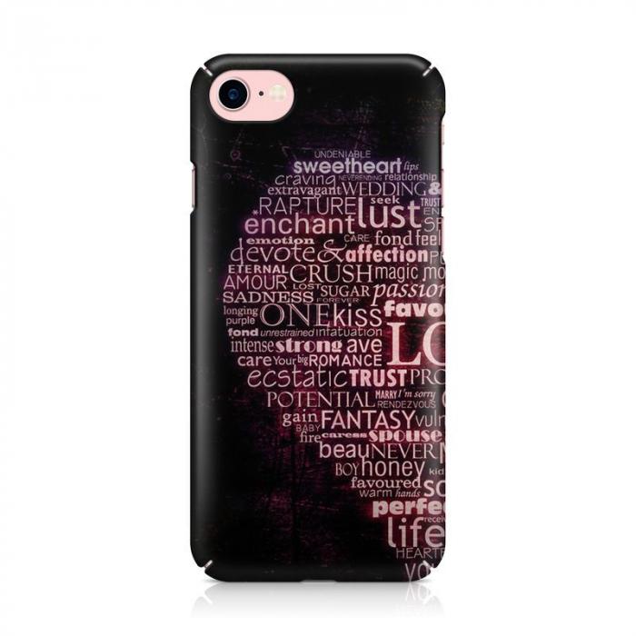 Husa iPhone 7 Custom Hard Case Only Words 1