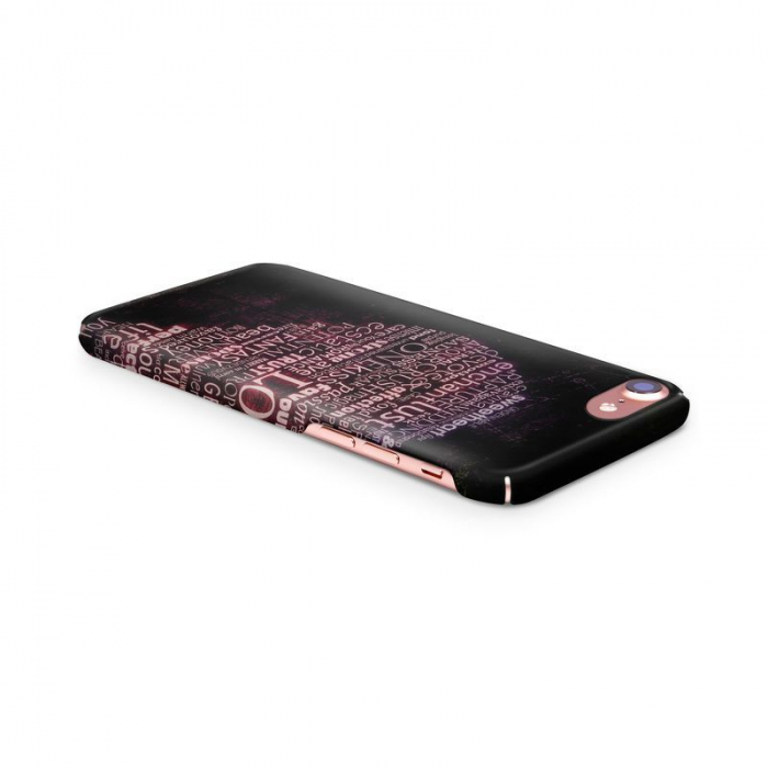 Husa iPhone 7 Custom Hard Case Only Words 3