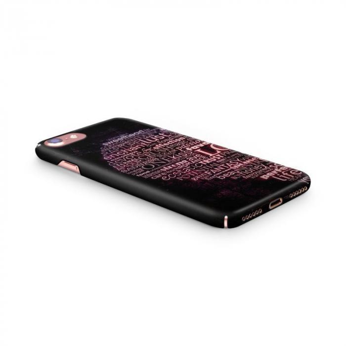 Husa iPhone 7 Custom Hard Case Only Words 2