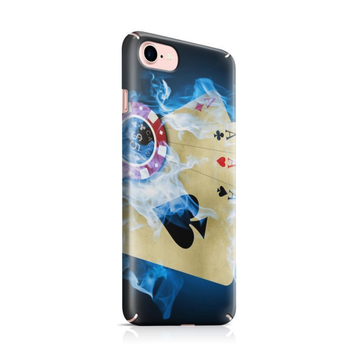 Husa iPhone 7 Custom Hard Case Poker Aces 0