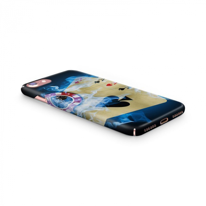 Husa iPhone 7 Custom Hard Case Poker Aces 2