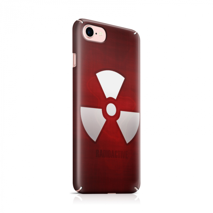 Husa iPhone 7 Custom Hard Case Radioactive 0