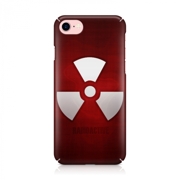 Husa iPhone 7 Custom Hard Case Radioactive 1