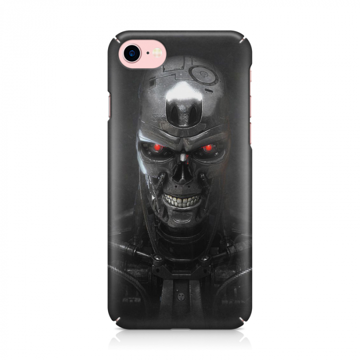 Husa iPhone 7 Custom Hard Case Roboskull 1