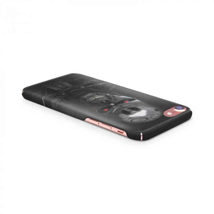 Husa iPhone 7 Custom Hard Case Roboskull 3