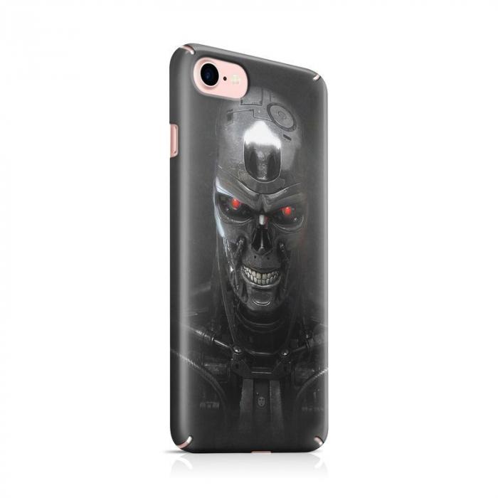 Husa iPhone 7 Custom Hard Case Roboskull 0