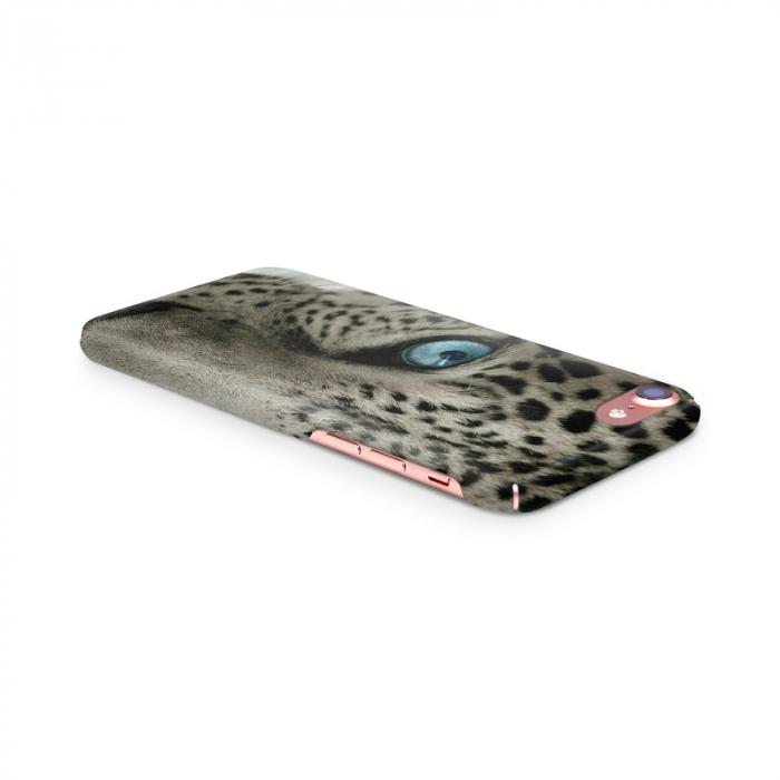 Husa iPhone 7 Custom Hard Case Snow Leopard 3