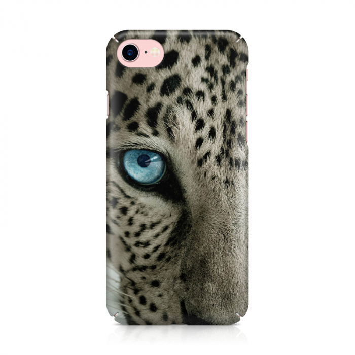 Husa iPhone 7 Custom Hard Case Snow Leopard 1