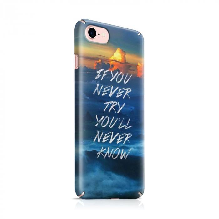 Husa iPhone 7 Custom Hard Case Try 0