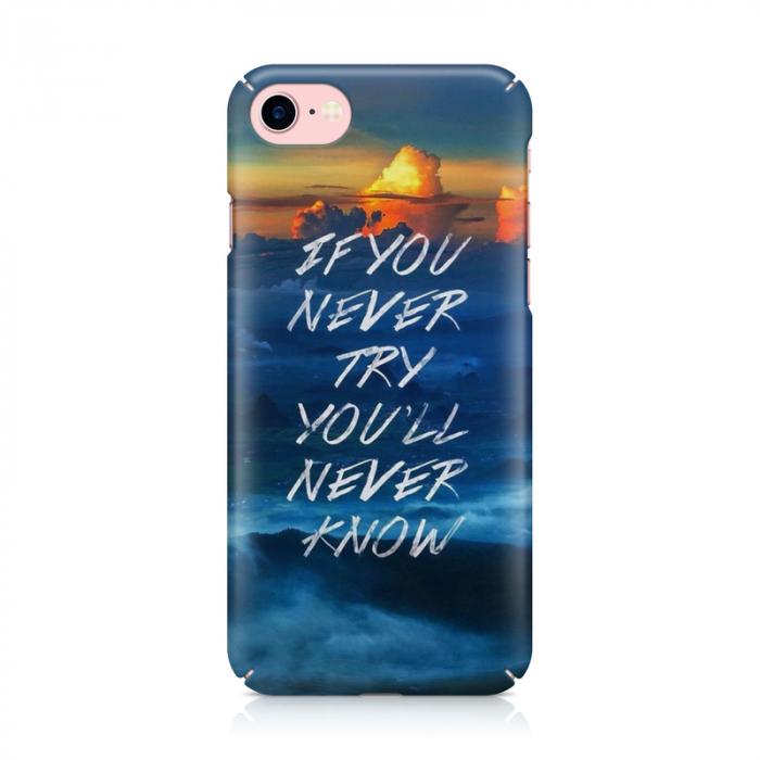 Husa iPhone 7 Custom Hard Case Try 1