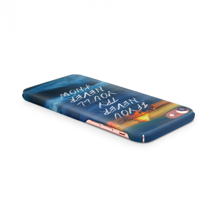 Husa iPhone 7 Custom Hard Case Try 2