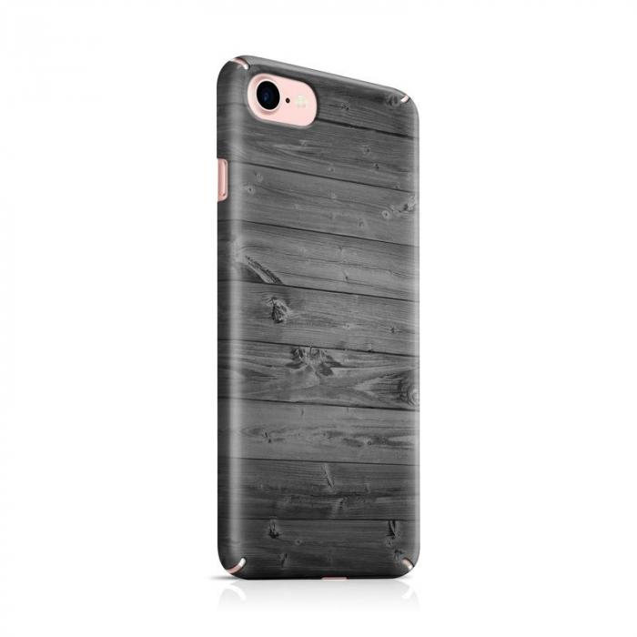 Husa iPhone 7 Custom Hard Case Wood 0