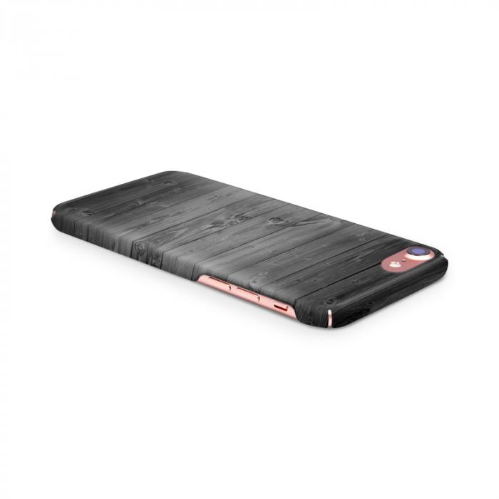 Husa iPhone 7 Custom Hard Case Wood 3