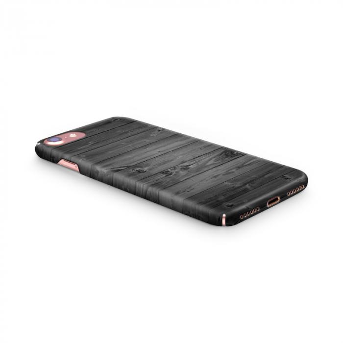 Husa iPhone 7 Custom Hard Case Wood 2