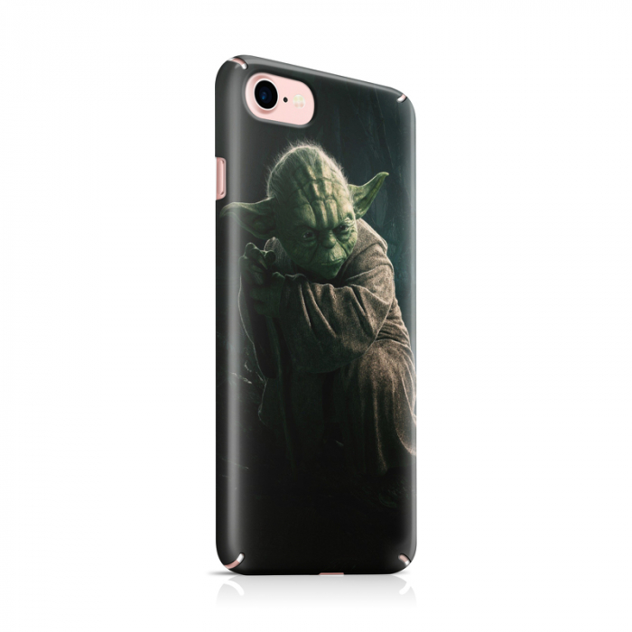 Husa iPhone 7 Custom Hard Case Yoda 0