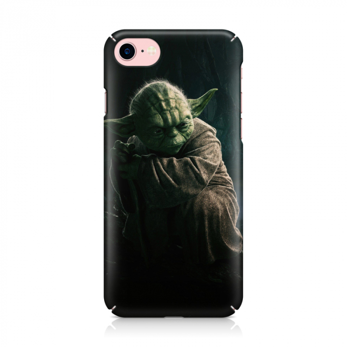 Husa iPhone 7 Custom Hard Case Yoda 1