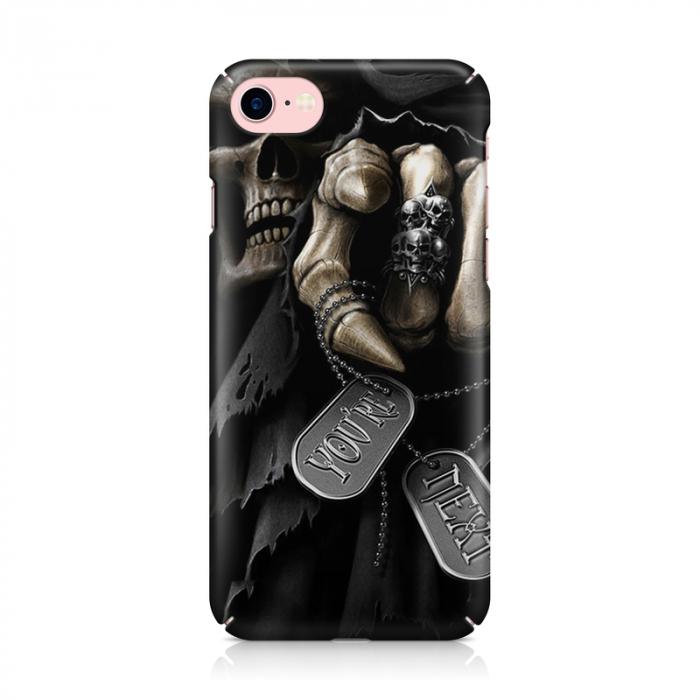 Husa iPhone 7 Custom Hard Case You're Next 1