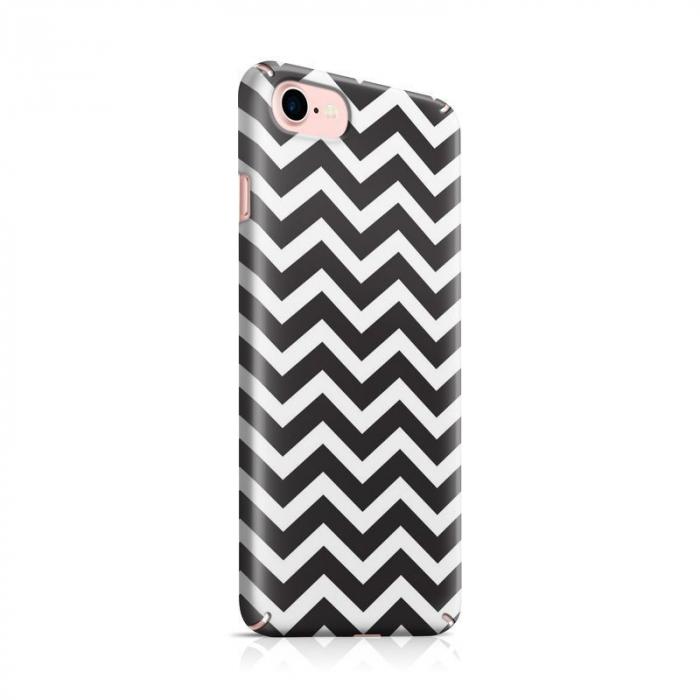 Husa iPhone 7 Custom Hard Case Zig Zag 0