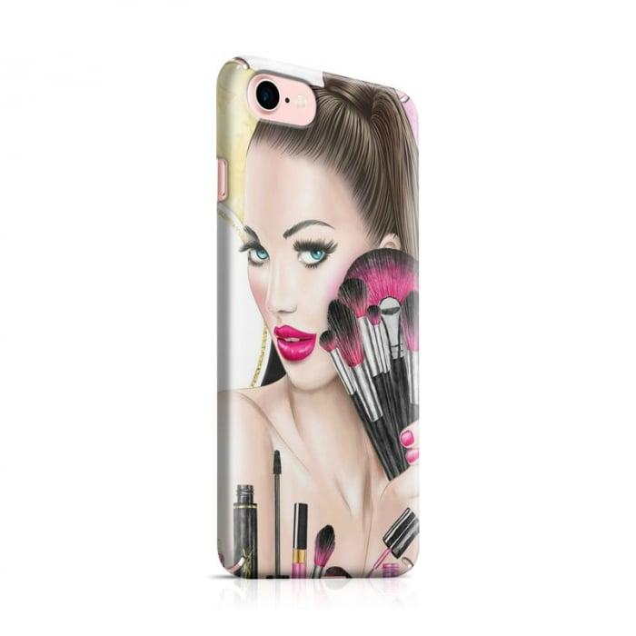Husa iPhone 7 Custom Hard Makeup 0