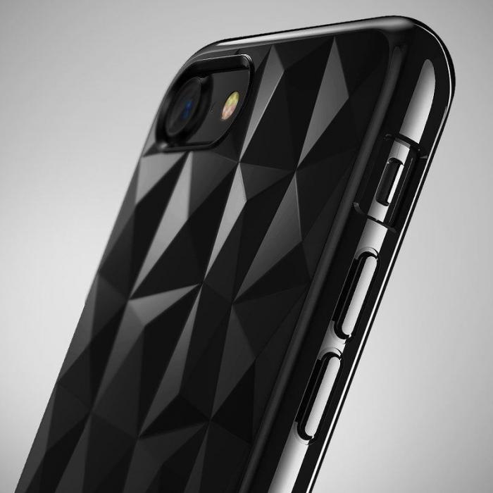 Husa iPhone 7 / iPhone 8  Prism Soft TPU - negru 3