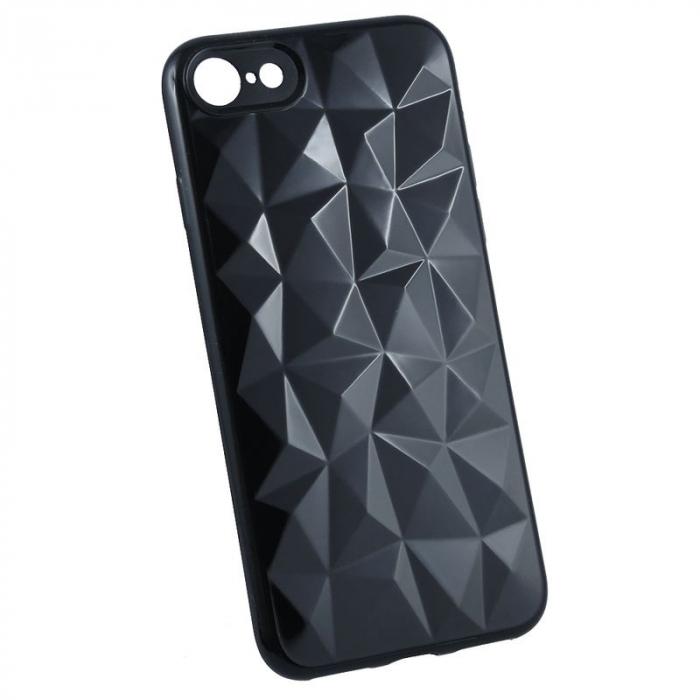 Husa iPhone 7 / iPhone 8  Prism Soft TPU - negru 7