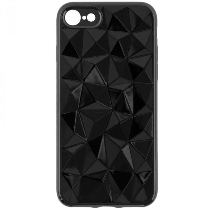 Husa iPhone 7 / iPhone 8  Prism Soft TPU - negru 4