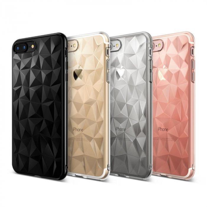 Husa iPhone 7 Plus / iPhone 8 Plus Prism Soft TPU - negru 5