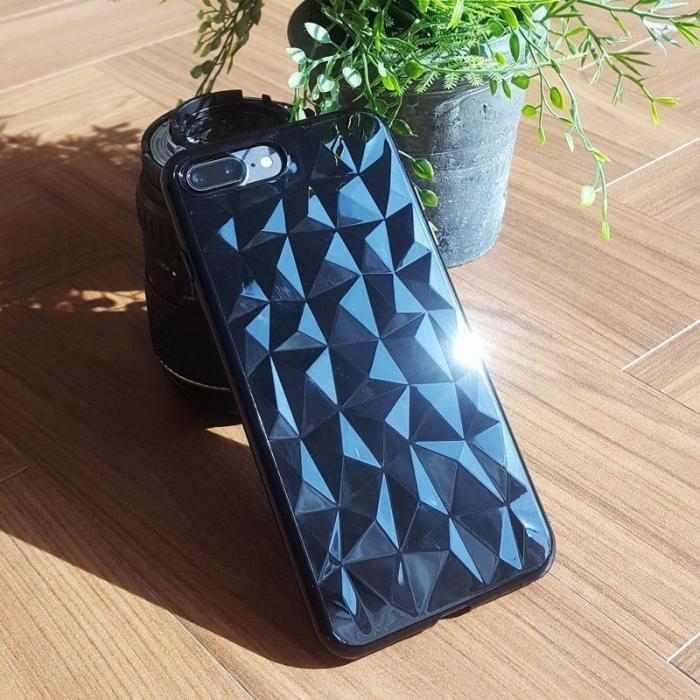 Husa iPhone 7 Plus / iPhone 8 Plus Prism Soft TPU - negru 1
