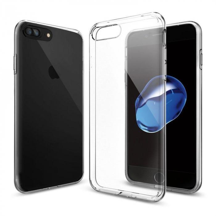 Husa iPhone 7 Plus / iPhone 8 Plus Soft TPU 0.8 mm - transparent 6