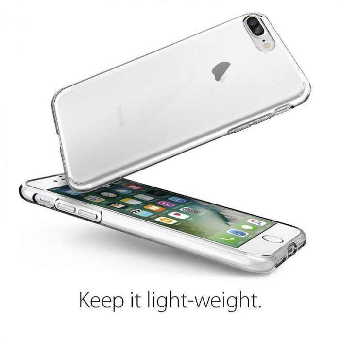 Husa iPhone 7 Plus / iPhone 8 Plus Soft TPU 0.8 mm - transparent 3