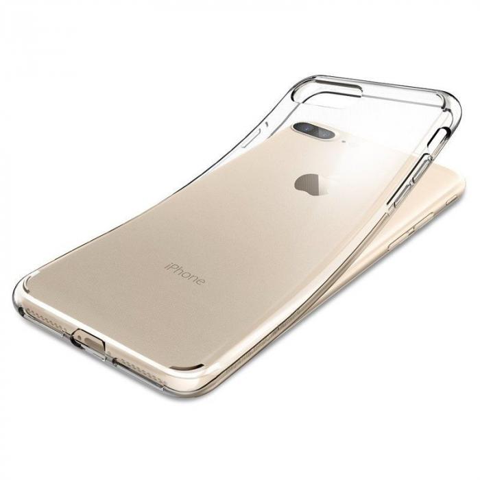 Husa iPhone 7 Plus / iPhone 8 Plus Soft TPU 0.8 mm - transparent 7